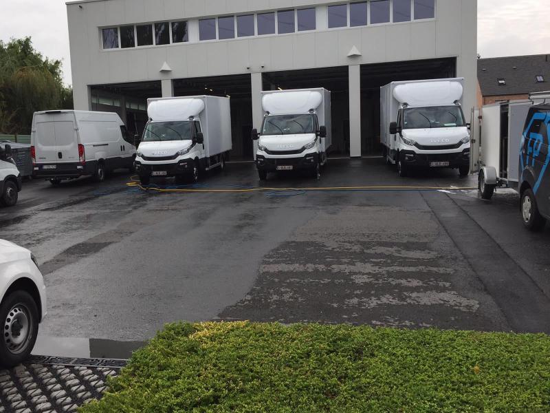 Reiniging van uw wagenpark door de mobiele carwash